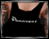 Purrvert Black Tank