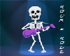 ROCK AND ROLL SKELETON