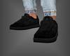 Leather Kicks Black