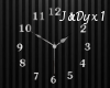 Dark Elegancy Wall Clock