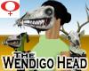 Wendigo Head -Womens