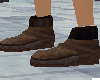 (pi)dark brown boot