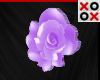 Purple Rose Hair Clip- R