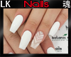 *LK* Nails in White