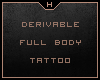 H Tattoo►Full Body F