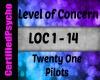 21Pilots -Lvl of Concern