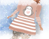 ✧˚Pengiun  Dress