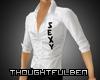 .TB. White Sexy Shirt