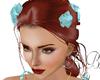 Light Blue Hair Roses