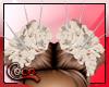 Hair spiky white Rose