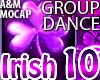 Irish Dance 10 -4x GROUP