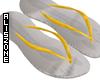 [AZ] Yellow flip flop