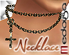 !M TS GoldCross Necklace