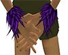 Purple Wrist Tuff