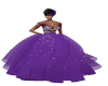 TEF PURPLE COUTURE GOWN