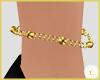 £. Gold Anklet