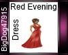 [BD] Red Evening Dress