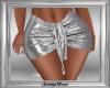 Silver Glitter Skirt