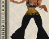 t| Gold Disco Outfit