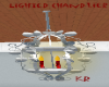 *KR lighted chandeliers