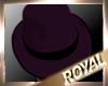 PURPLE BLACK HAT