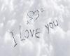 I Love You in Snow