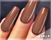 GEL Coffin Nails CACAO