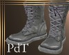 PdT Gray Field Boots M