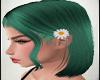 Flor Green Hair