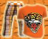 *CA* Oranage Tiger Tee