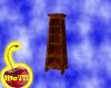 Burl Oak Cabinet