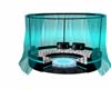 Teal Canopy Couch