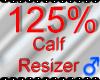 *M* Calf Resizer 125%