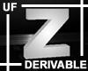 UF Derivable Letter Z