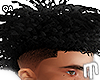 Curly Frohawk - Black