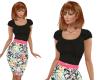 TF* Retro TOP & Skirt