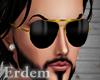 E/Black Glasses Wayfers