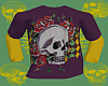 *CA* Roses n Skull