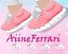 Shoe kids pink