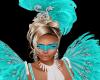 Mardi Mask Water Blue