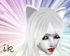 (IK)Pure White Fox ears