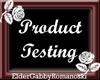 G| Prod testing