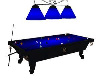 (BR) Blue Pool Table