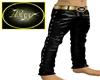 Black Gold leather Pants