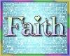 FAITH bday balloons