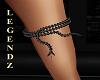 Blk Onyx Python Leg