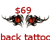 $69-red eyes tattoo