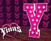Y. Letter Y e