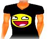 SmileyVNeckT-Shirt