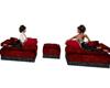lounge red lola